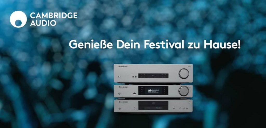 Cambridge Audio Rabatt-Aktion: Genieße dein Festival zu Hause