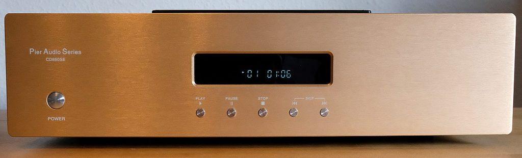 """Im Test der CD-Spieler """"Pier Audio CD 880 SE"""" mit Röhren-Ausgang-Stufe"""