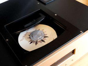 Top-Lade des CD-Spieler Pier Audio CD-880 SE