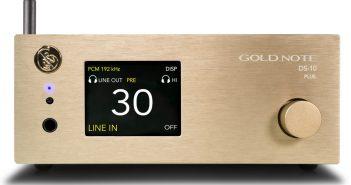 D/Wandler und Streamer mit Analogeingang: Der neue Gold Note DS-10 Plus
