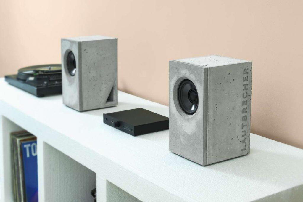 Die neuen Beton-Lautsprecher Lautbrecher