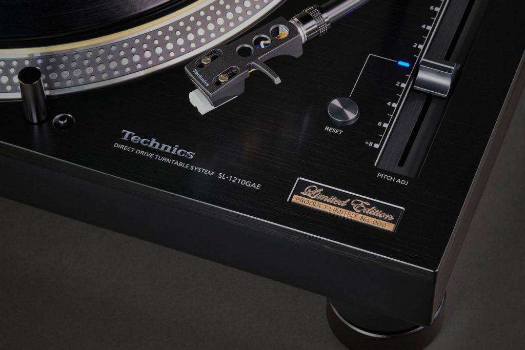 Technics SL 1210 GAE mit Nagaoka MM-Tonabnehmer JT