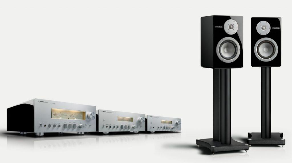 Im Bild die Lautsprecher-Ständer Yamaha SPS 3000