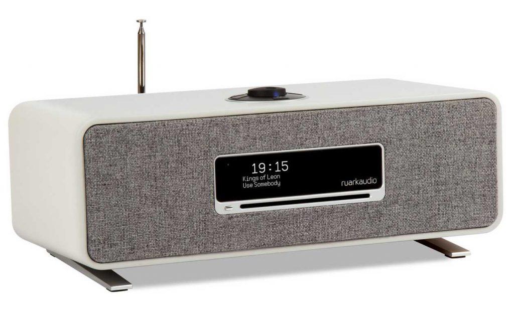 Die neue günstige HiFi-Komplettanlage Ruark Audio R3 in grau