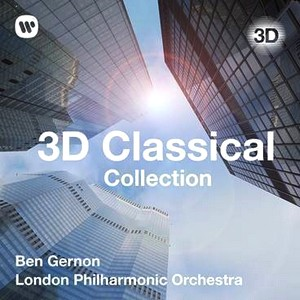 Cover der 3D Classical Collection mit dem London Philharmonic Orchestra von Warner Bros Music