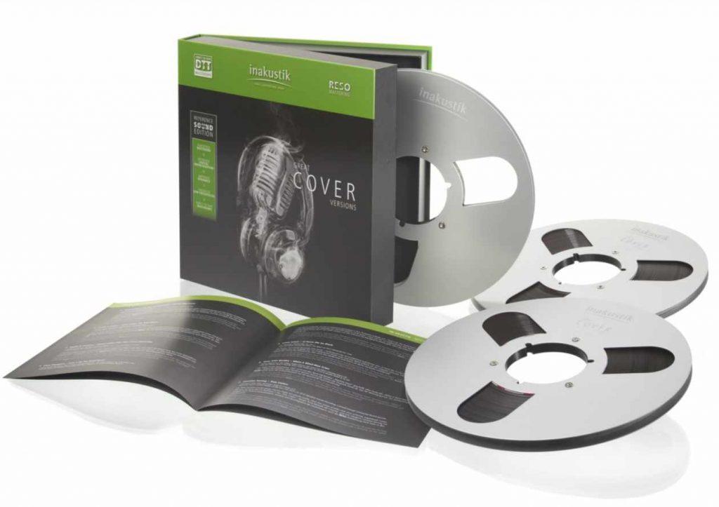 Die neuen Mastertapes von in-akustik für Bandmaschinen