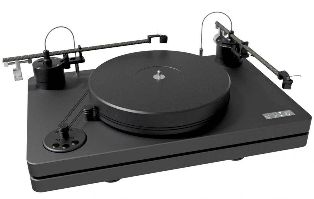 Im Bild der neue High End Plattenspieler Levar Canzona im Vertrieb von MHW-Audio