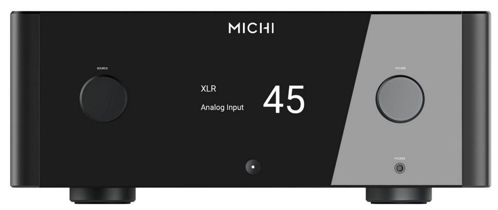 Die Front des High End Vollverstärker Rotel MICHI X5