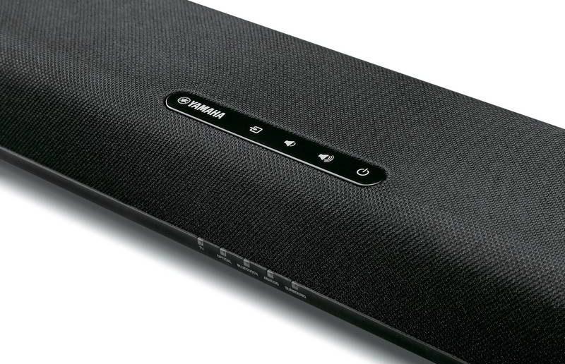 Volume-Regler der neuen Yamaha Soundbar SRC 20