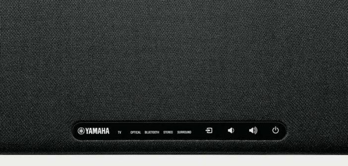 die neue Surrondbar Yamaha SRB-20AB von oben