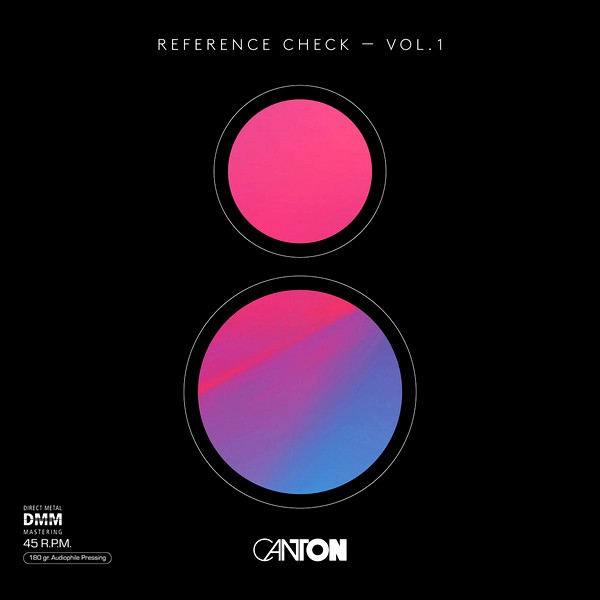 """Cover des Album """"Reference Check Vol. 1"""" von Canton"""