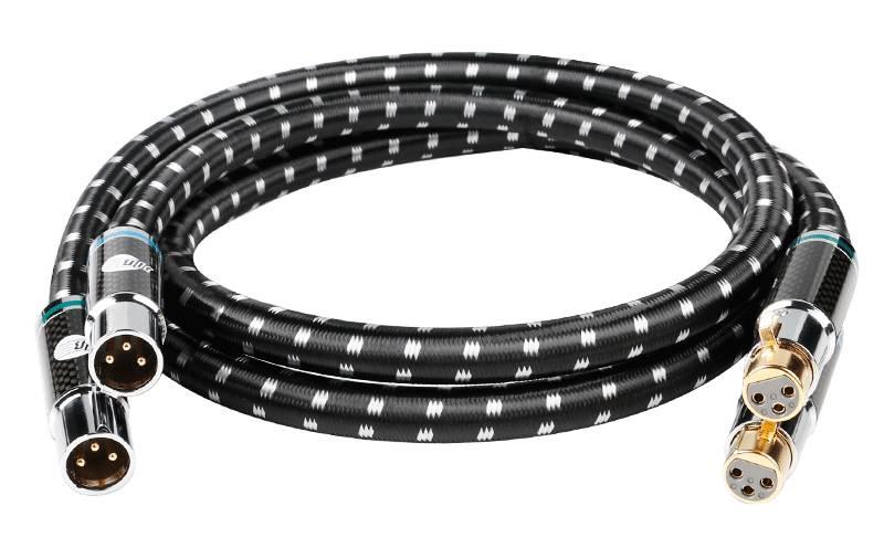 Im Bild das neue HiFi-XLR-Kabel Boaacoustic Black XLR 15