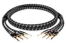 Im Bild das neue HiFi-XLR-Kabel Boaacoustic Evolution Black Sonic Bi-Wiring