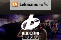 Analog Tage 2020. Logo Lehmann Audio und Bauer Studios