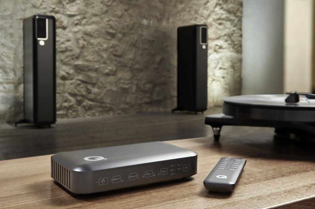 der Hub der neuen kabellosen Lautsprecher Q Active