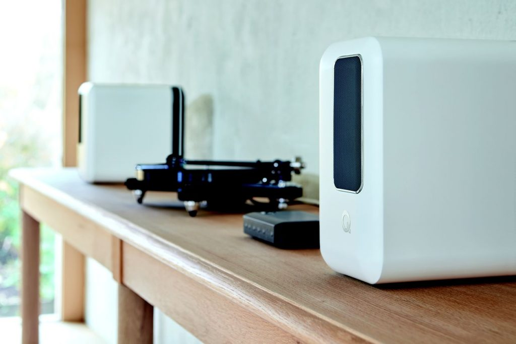 Die neuen kabellosen Lautsprecher Q Acoustics Active 200 in weiss