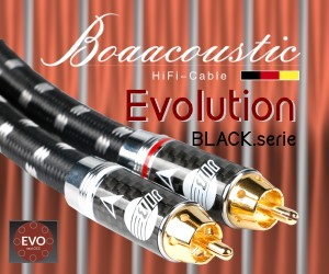 Boaacoustic Evolution Black serie HiFi- und High End Kabel