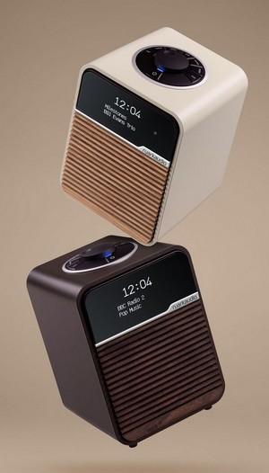 Das neue Kompakt-Radio Ruark Audio Ra MK4 mit UKW, DAB und Bluetooth