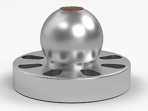 Schallplatten-Gewicht Bfly-audio mit Kugelkopf