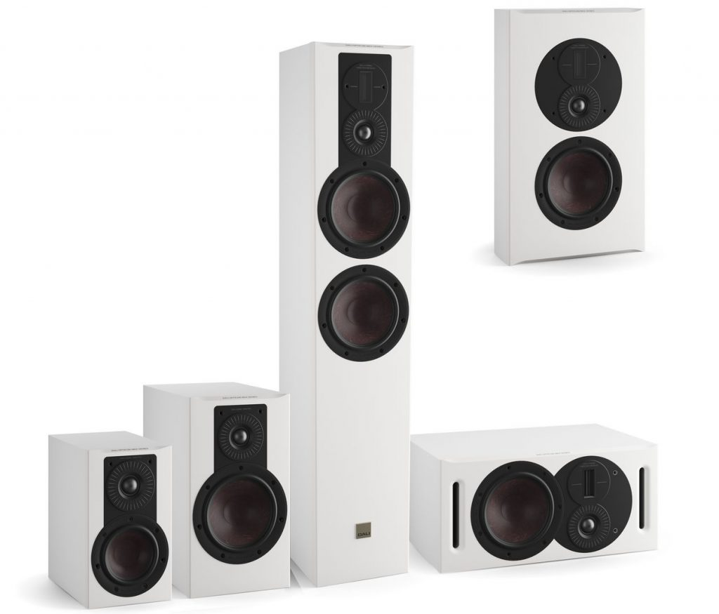Die neuen Dali Opticon MK2 Lautsprecher in weiss