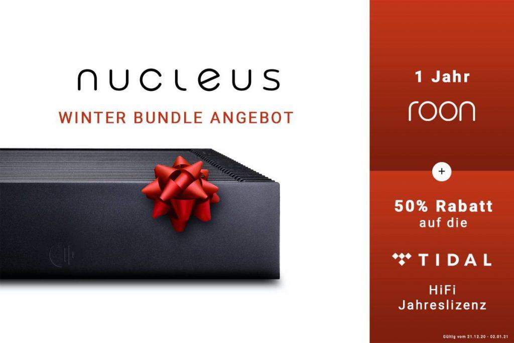 Winter Sonder-Angebot von Roon Nucleus und Tidal
