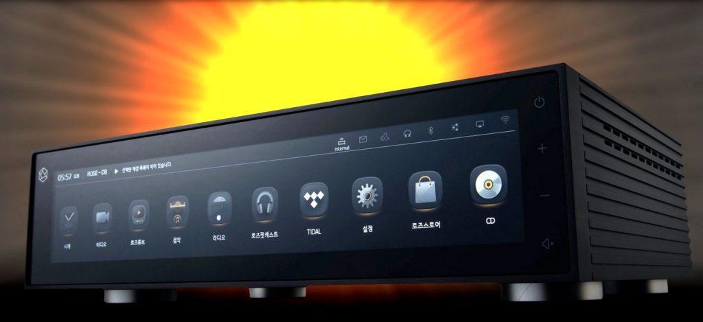 Im Bild der neue Rose RS150 - Netzwerk-Streamer und Digital-Analog-Wandler