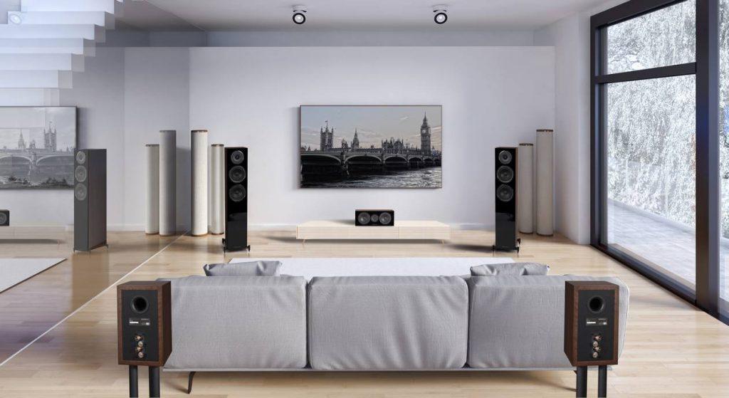 Die neuen Surround-Lautsprecher Wharfedale Diamond 12. Entwickelt von Karl-Heinz Fink