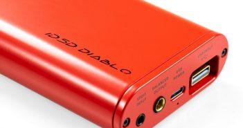 Im Bild der neue High End D/A-Wandler und Kopfhörer-Verstärker ifi micro Diablo