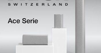 """Im Bild die neuen HiFi- und Surround-Lautsprecher """"Ace"""" von Piega"""