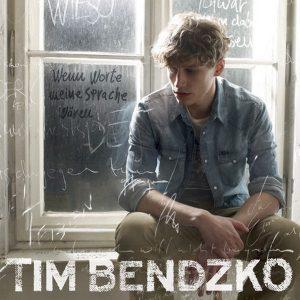 """Tim Bendzko mit dem Album """"Wenn Worte meine Sprache wären"""""""