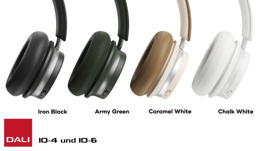 Die Bluetooth-Kopfhörer Dali IO-4 und IO-6 in neuen Farben