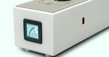 Die neue FEZZ Audio Hifi High End Netzleiste Spannung Anzeige
