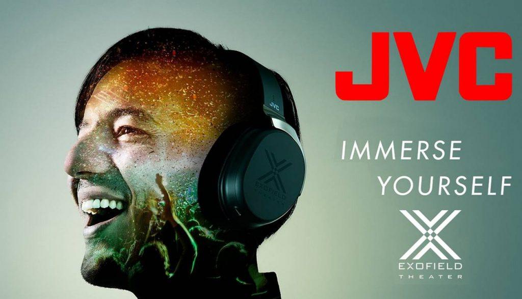 Android und Apple ios Software-update für Heimkino Kopfhörer JVC Exofield