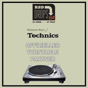 Die Partener Record Store Day (RSD) und Technic SL-1200G