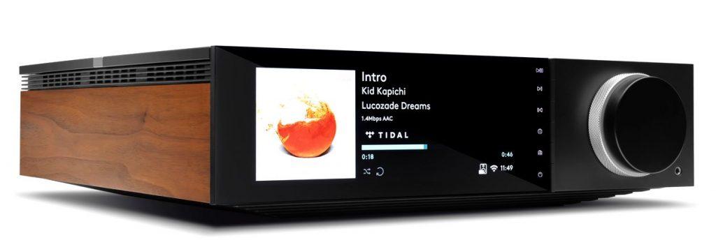 Im Bild der neue Cambridge Audio All In One Streaming Verstärker EVO 75