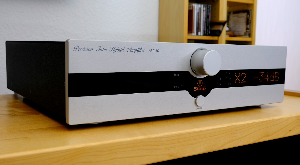 Im Test der High End Röhren CD-Player Canor CD 2.10 mit HiRes-Dac für externe Quellen