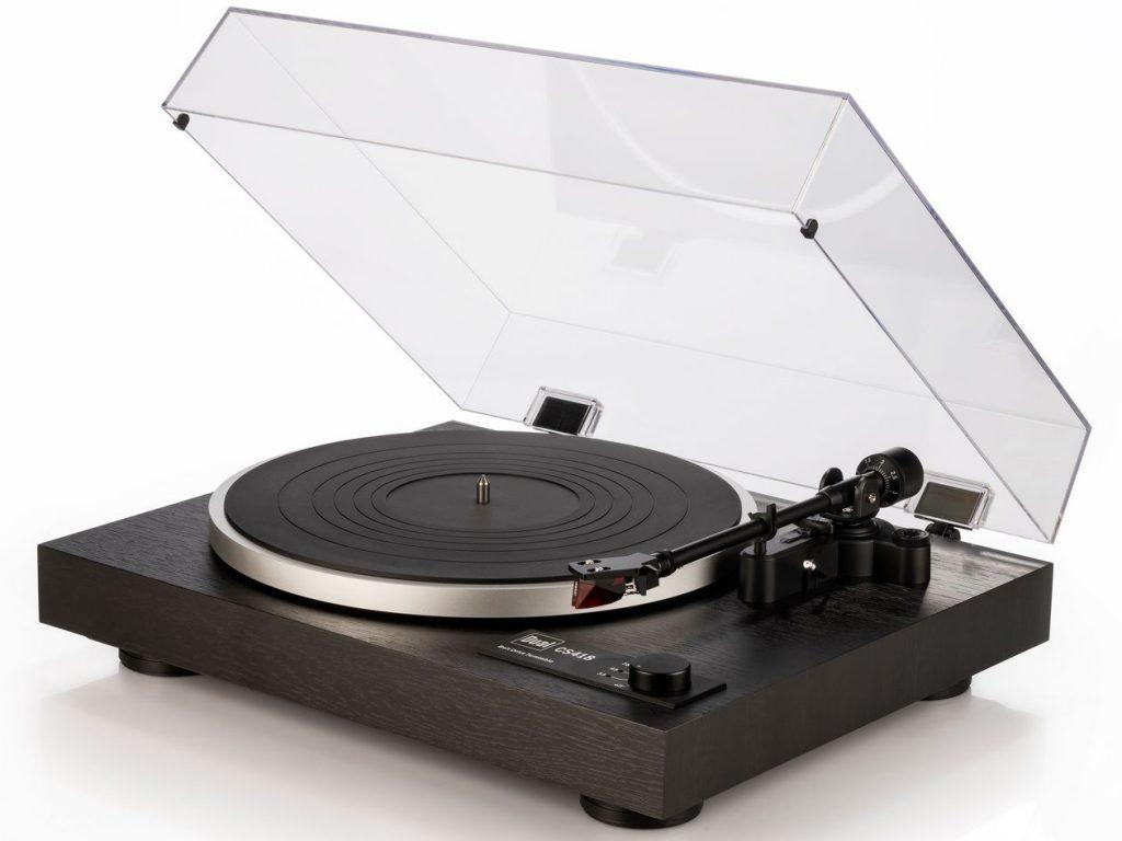 Neuer manueller Plattenspieler Dual CS 418 mit Ortofon 2M Red und MM-Phono-Vorverstärker