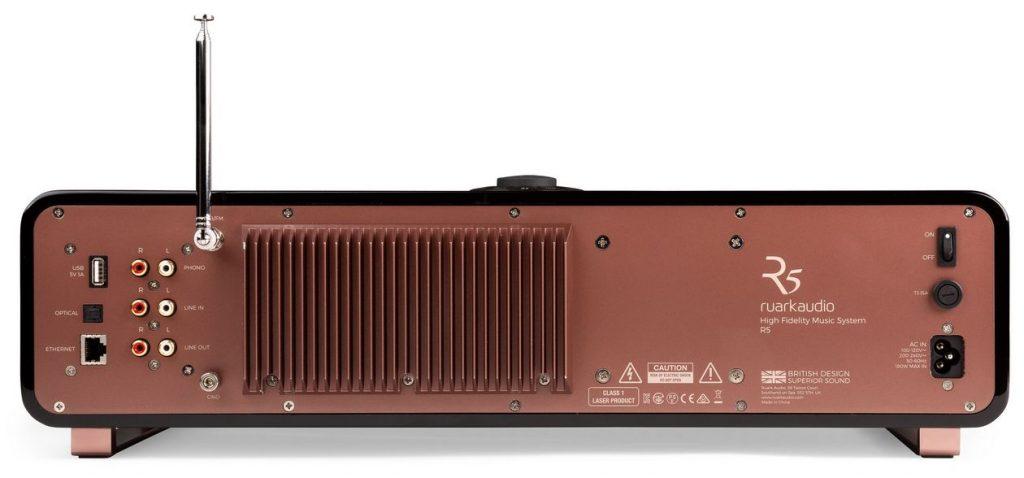 Ruark R5 One in All Music System mit MM-Phono-Verstärker