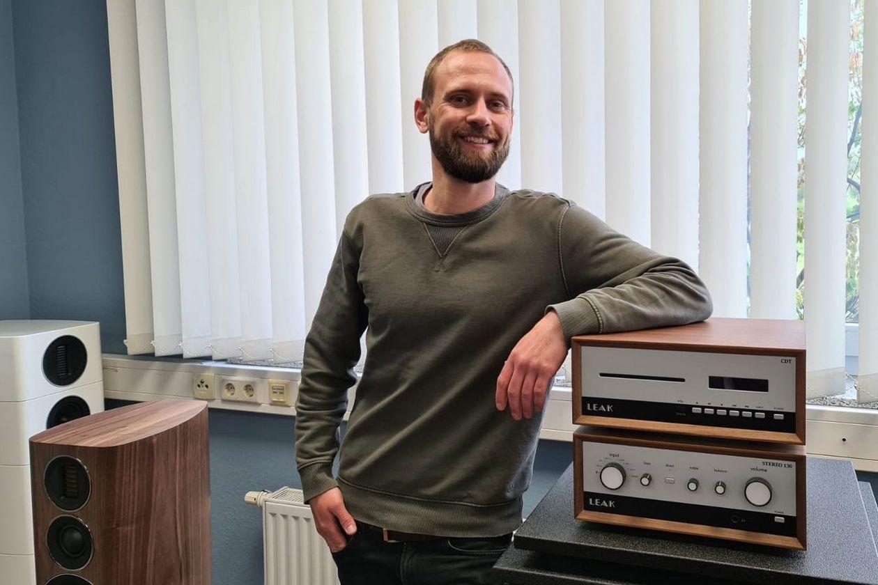 Enzo Bauer. Wechsel von den Sound Brothers zum IAD HiFi und High End Vertrieb