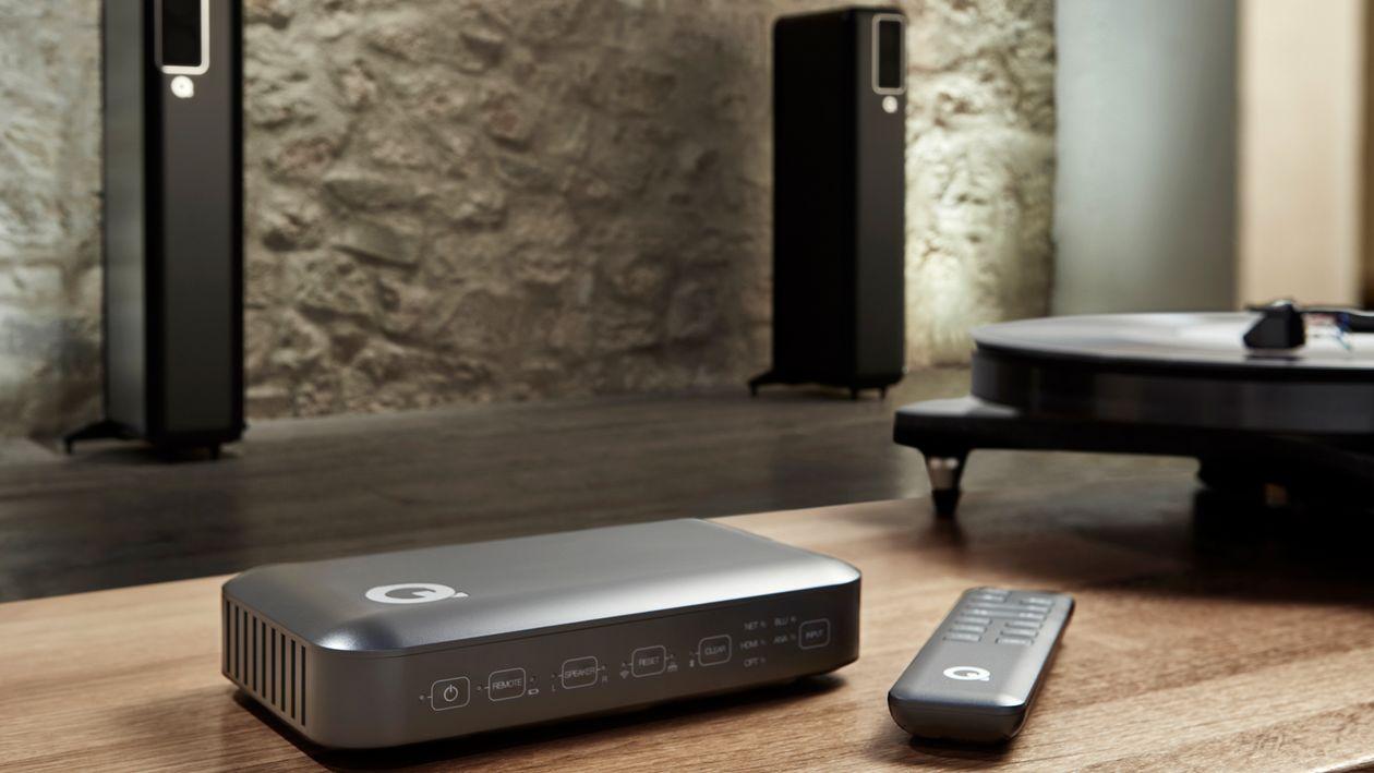 Hub für die aktiven Lautsprecher Q Acoustics 200 und 400
