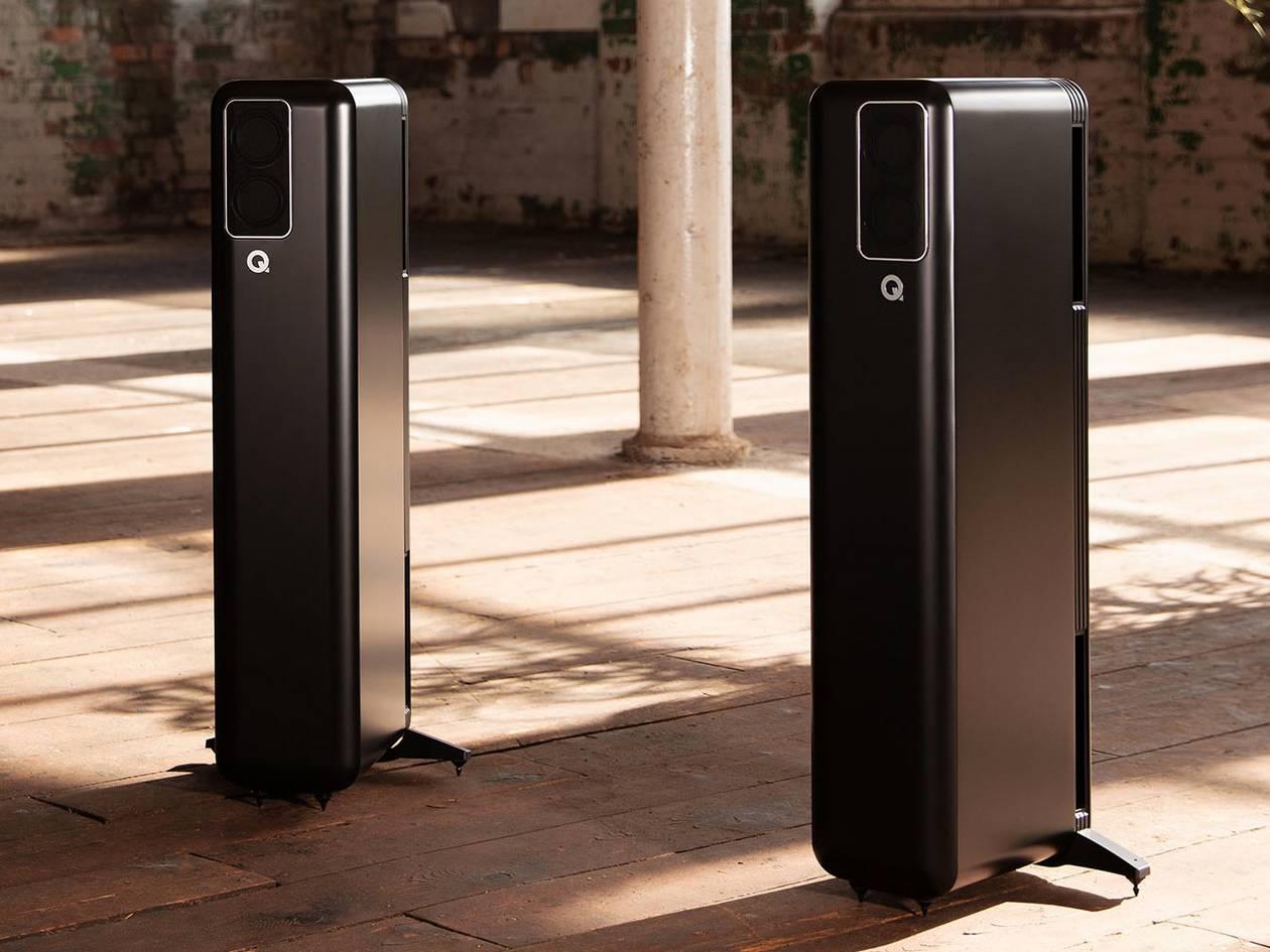 Neue aktive Standlautsprecher Q Acoustics Q 400 mit Roon Ready