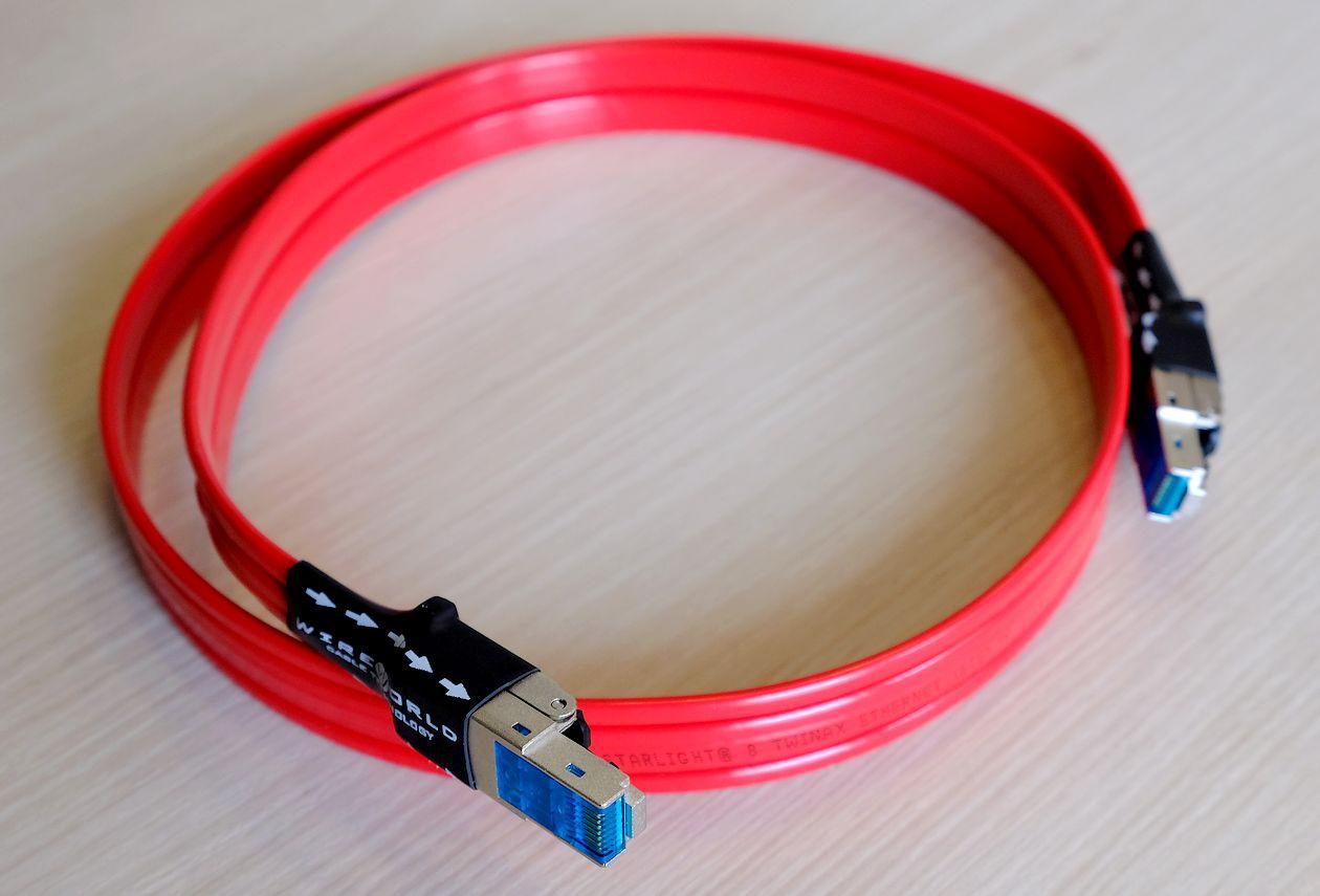 HiFi Cat-8 LAN-Ethernet-Kabel Wireworld Starlight 8 im Test.