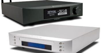 Im Bild die Neuheiten Streaming-Bridge und CD-Transport Serie 9 von NuPrim