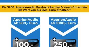 Rabatt-Aktion HiFi-Lautsprecher Aperion Audio