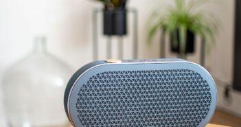 Im Bild die neuen mobilen Bluetooth-Lautsprecher Dali Katch G2