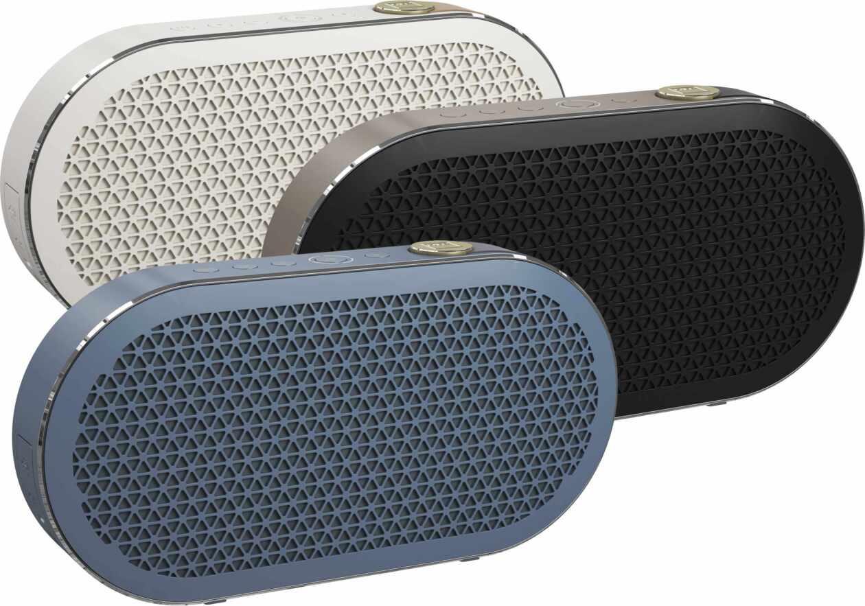 Die Bluetooth Lautsprecher Dali Katch 2G in drei Farben
