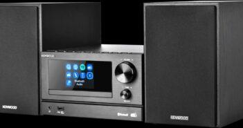 Im Bild die neue Micro HiFi-Anlage M 7000 s von Kenwood mit Bluetooth und Spotify