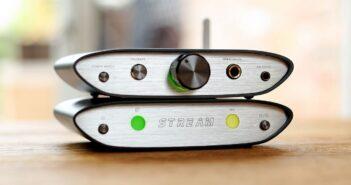 Im Bild der neue iFi ZEN Stream – Wi-Fi Audio Transport/Streaming Bridge