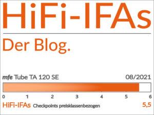 Im Test der Röhren-Endverstärker mfe TA 120 SE aus der High End Manufaktur von Michael Franken.tt