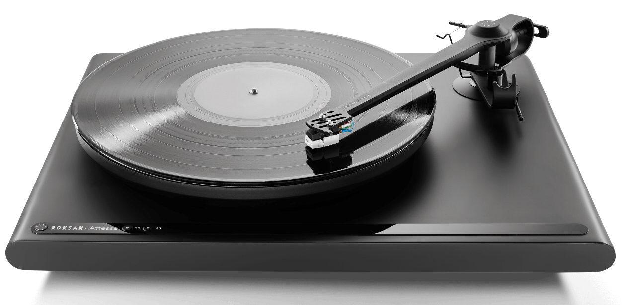 High End News: Plattenspieler Roksan Atessa mit Phono-MM-System.